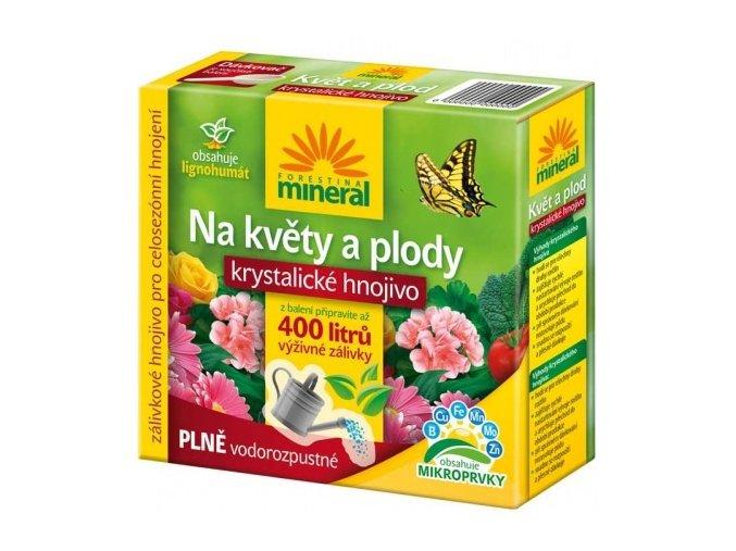 Krystalické hnojivo s lignohumátem na Květy a Plody - 400g