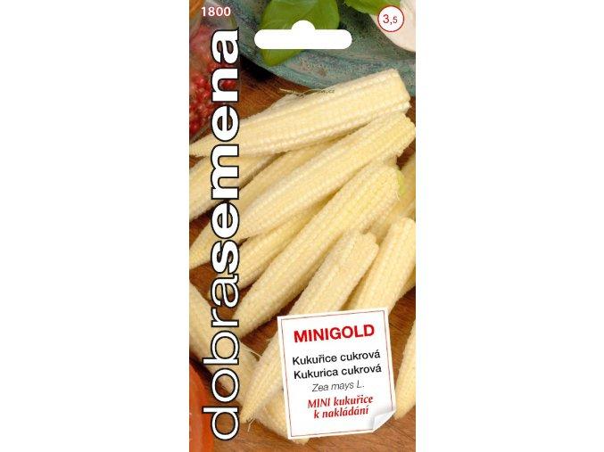 46766 kukurice cukrova minigold 3 5g dobra semena