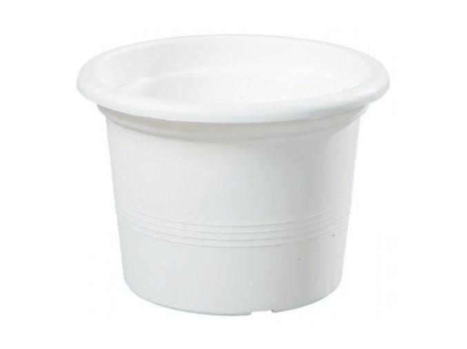 Květináč Campanula bílý - 15cm