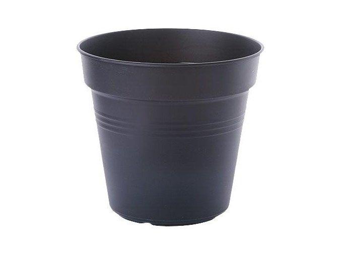 Květináč Green Basics - living black 21cm