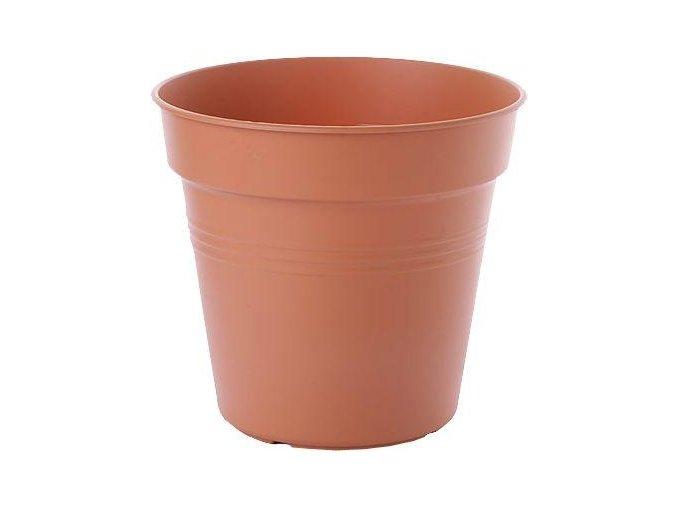 Květináč Green Basics - mild terra 13cm
