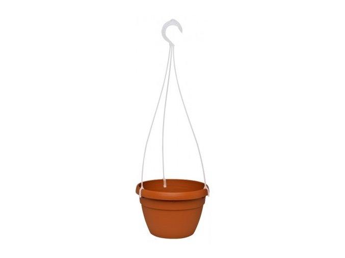 Květináč Lavaredo závěsný - teracota 20cm