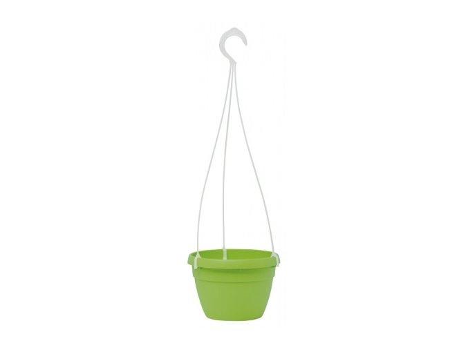 Květináč Lavaredo závěsný - zelený 20cm