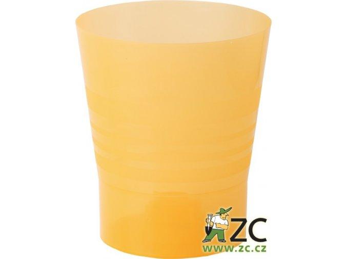 Květináč Orchid - 15cm oranžový