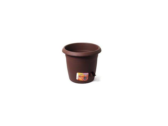 Květináč samozavlažovací Siesta - čokoládový 30cm
