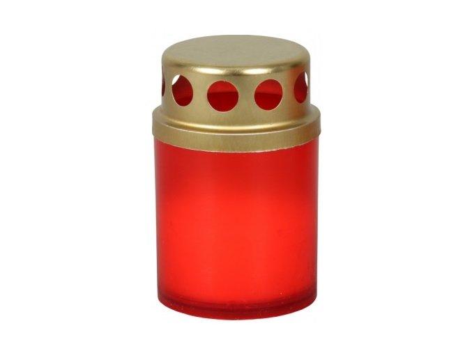 Lampička hřbitovní Mini plastová s víčkem 20g - 10ks