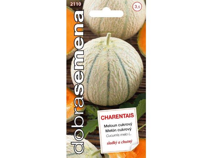 48404 meloun cukrovy charentais f1 0 8g dobra semena