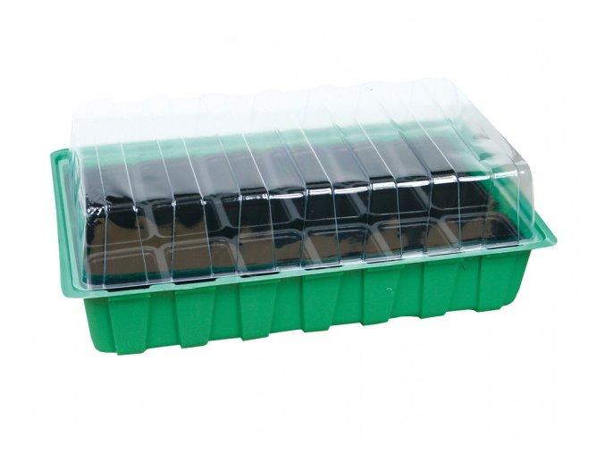 48530 minipareniste mini 18 otvoru zelene 36x22x12cm