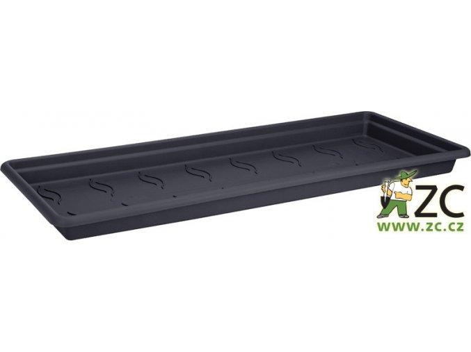 Miska pod truhlík Green Basics Garden XXL - 60cm living black