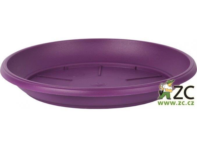 Miska Similcotto broušená - fialová 25cm