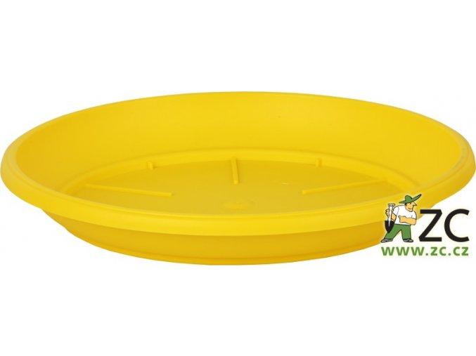 Miska Similcotto broušená - žlutá 25cm