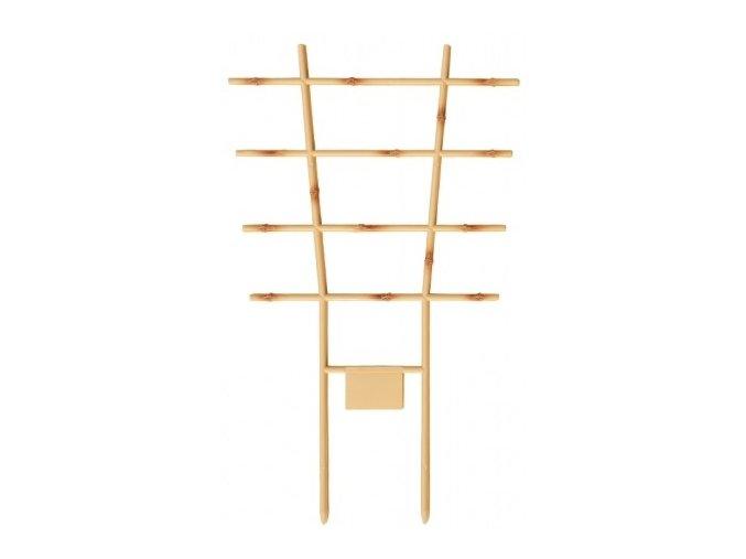 Mřížka na rostliny Vertico Bambus plastová 26x16cm - 2ks