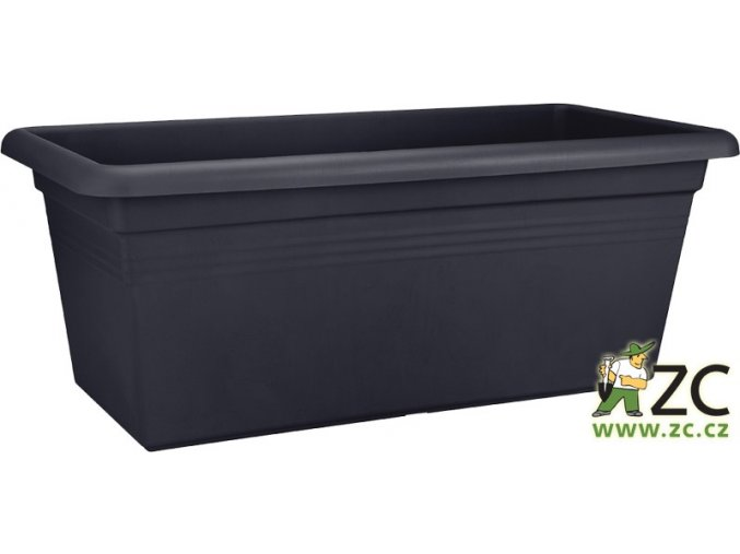 Truhlík Green Basics Garden XXL - living black 60cm