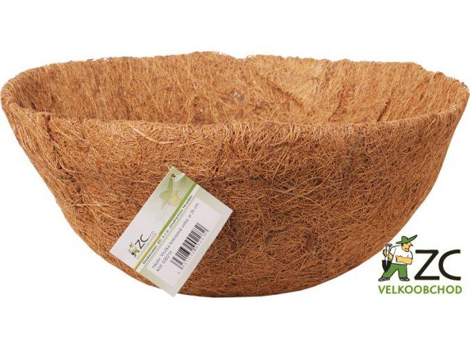 Vložka kokosová do závěsného košíku - 40cm