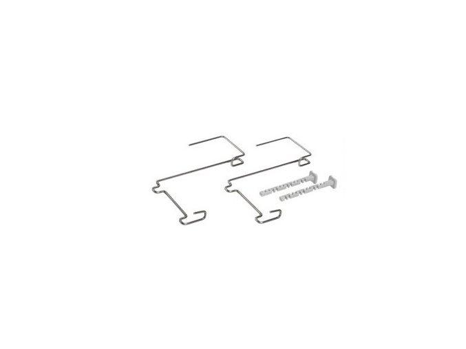 Držák na truhlík balkon - kovový Berberis (2ks)