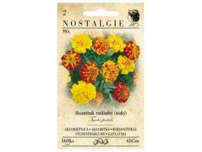 40490 aksamitnik rozkladity nizky mix nostalgie