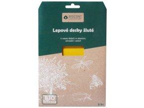 Biocont žluté lepové desky proti škůdcům ve Skleníku - 5ks