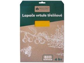 Biocont žluté desky proti vrtuli na Třešně - 4ks