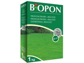 41180 biopon na travnik proti mechu 1kg