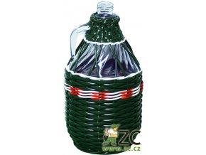 Demižon opletený 3l (mix barev)