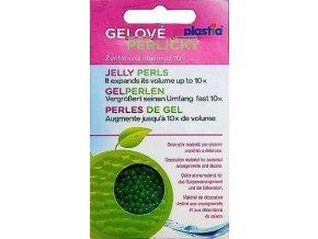 Gelové perličky - zelené 30g