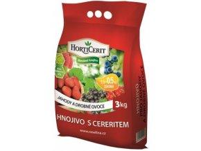 Hnojivo Rašelina Horticerit na Jahody a Drobné ovoce - 3kg