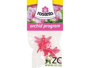 Klips Vážka Rosteto - růžový/červený 4ks