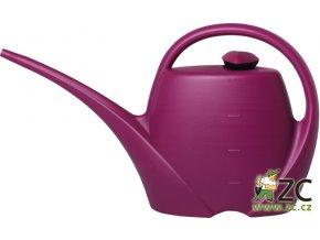 Konev - 4,5l Spring tmavě fialová s kropítkem