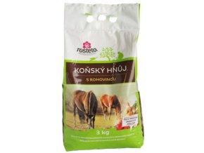 Koňský hnůj speciál s rohovinou Rosteto - 3kg