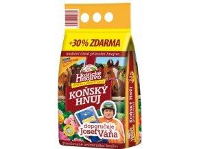 Koňský hnůj Váňův - 2,5kg + 30%  zdarma
