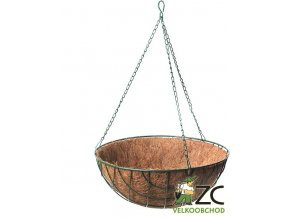 Košík kokosový závěsný - 40cm