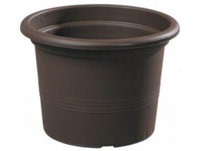Květináč Campanula hnědý - 23cm
