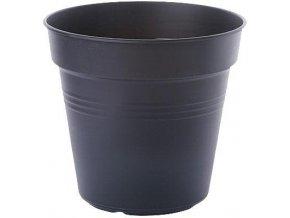 Květináč Green Basics - living black 17cm