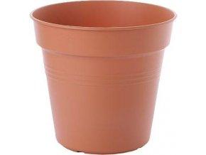 Květináč Green Basics - mild terra 15cm