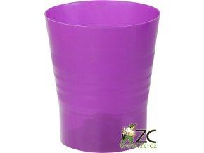 Květináč Orchid - 11cm tmavě fialový