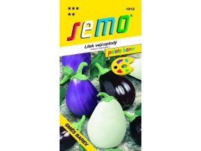 47915 lilek vejcoplody smes barev 30s serie paleta