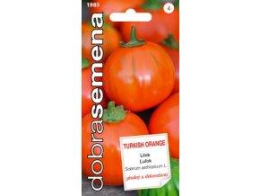 47933 lilek vejcoplody turkish orange 20s dobra semena