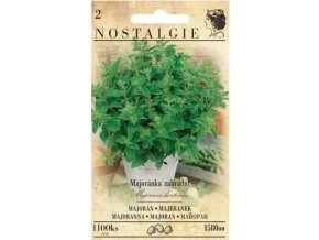 48323 majoranka zahradni nostalgie