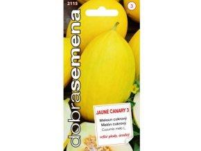 48407 meloun cukrovy jaune canary3 20s dobra semena