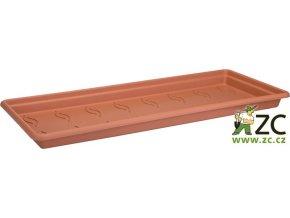 Miska pod truhlík Green Basics Garden XXL - 100cm mild terra