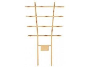 Mřížka na rostliny Vertico Bambus plastová 34x21cm - 2ks