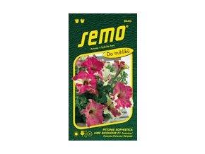 52463 petunie velkokveta sophistica lime bicolor f1 15p