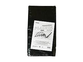Plachta 5x6m tl. 0,100 regranulát černá