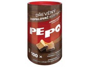Podpalovač PE-PO kostičky 100ks