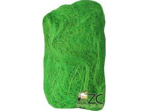 Sisálové vlákno 30g - světle zelené