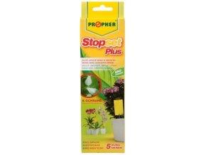 Stopset Plus lepové desky žluté na mšice a molice - 5ks