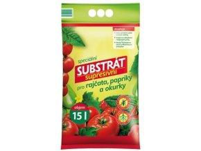 55844 substrat forestina profik supresivni pro rajcata papriky a okurky 15l