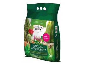 Substrát Rašelina Premium pro Kaktusy a Sukulenty - 5l