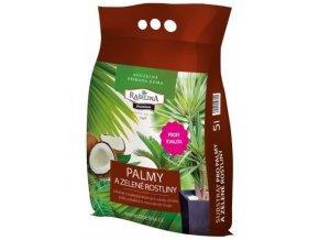 Substrát Rašelina Premium pro Palmy a Zelené rostliny - 5l