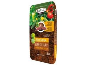 Substrát Rašelina Premium pro Zeleninu s vermikompostem - 50l